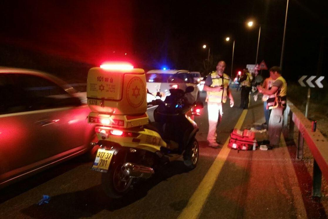 רוכב אופניים נפגע בתאונת דרכים באשקלון