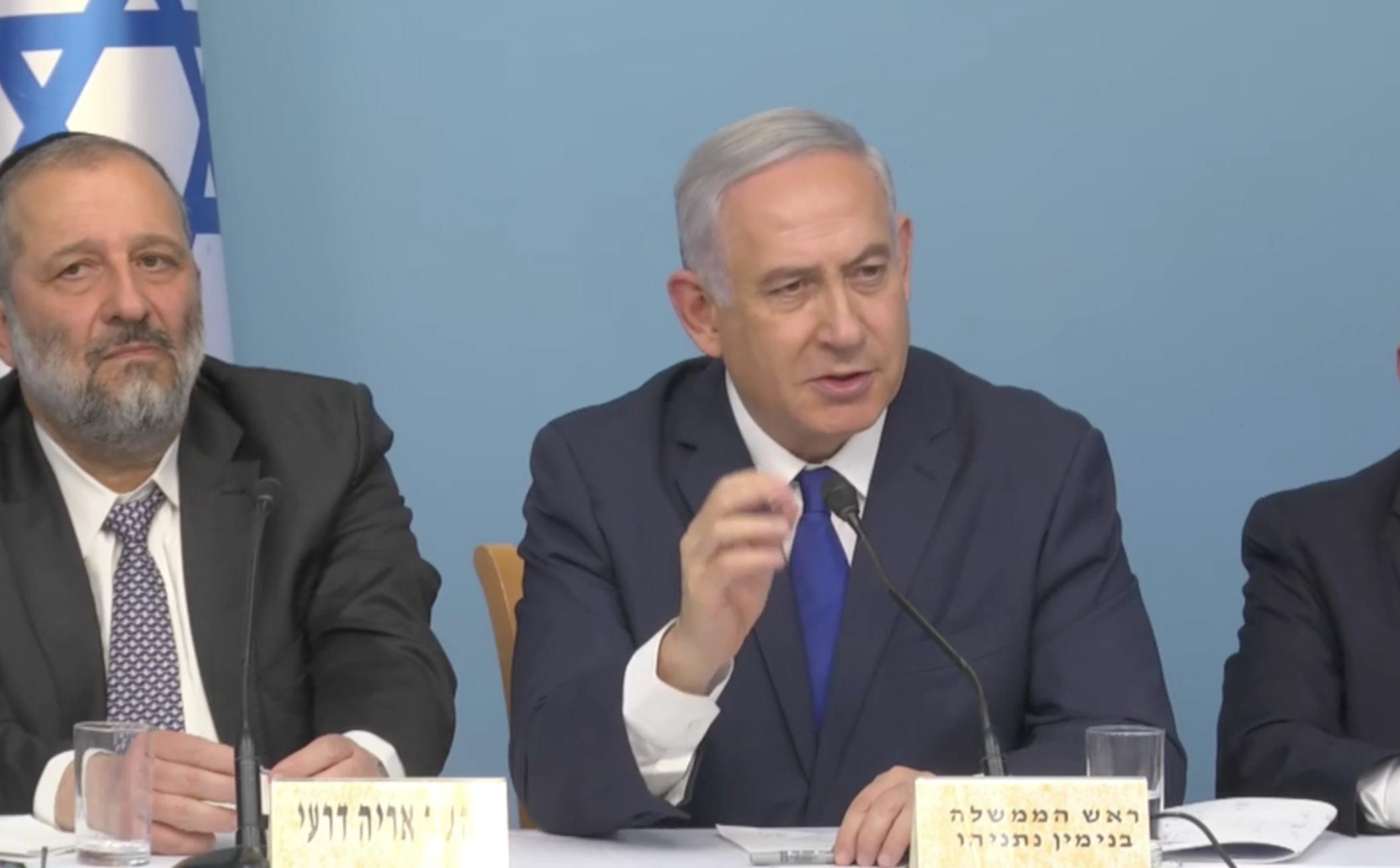 נתניהו: ״שמעתי הערות רבות והחלטתי לבטל את ההסכם״