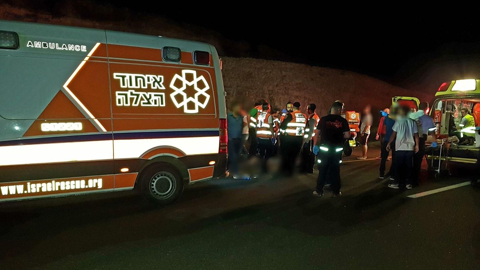 הרוגה ופצועה קשה באירוע ירי לעבר רכב סמוך לראשון לציון