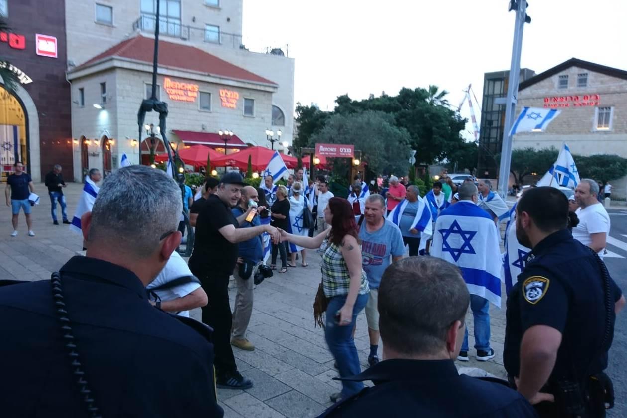 השוטר שנחקר על מעצר המפגין בחיפה הורחק מיחידתו