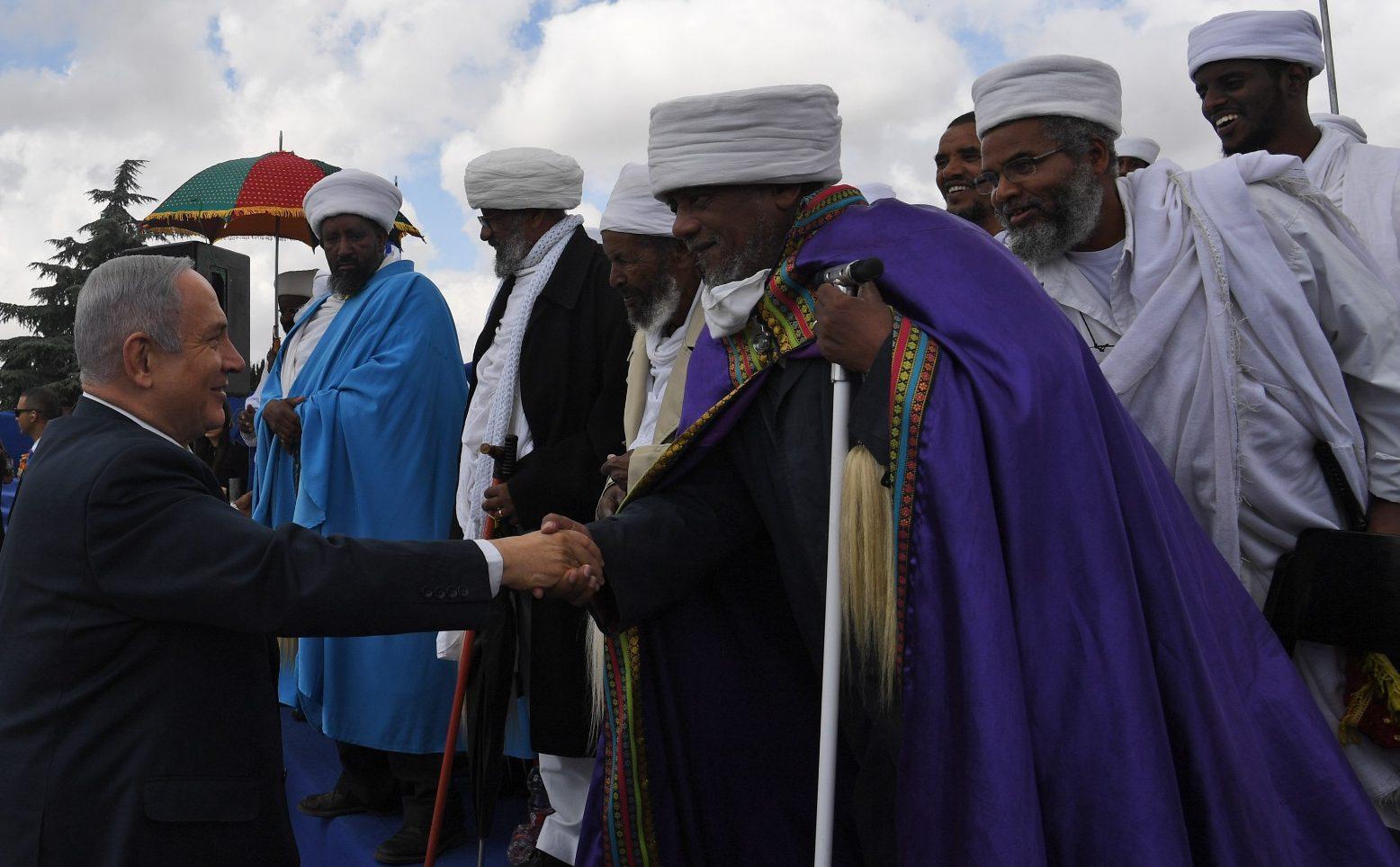נתניהו בטקס האזכרה ליהודי אתיופיה: ״עם ישראל כולו יכול ללמוד מכם על אהבת ירושלים״