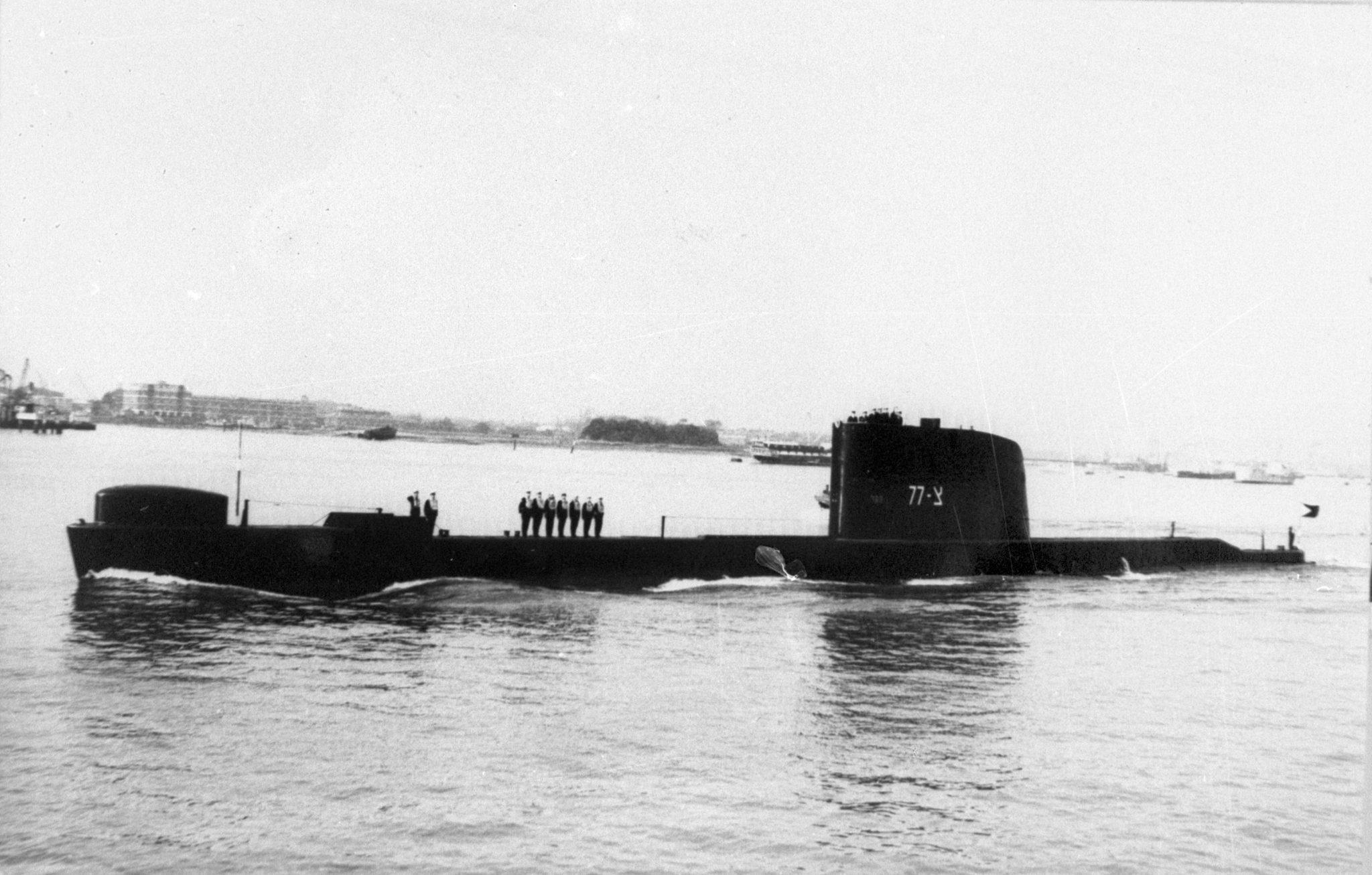 """50 שנה לטביעת הצוללת אח""""י דקר: צפו בתיעוד איתור הצוללת במעמקי הים"""