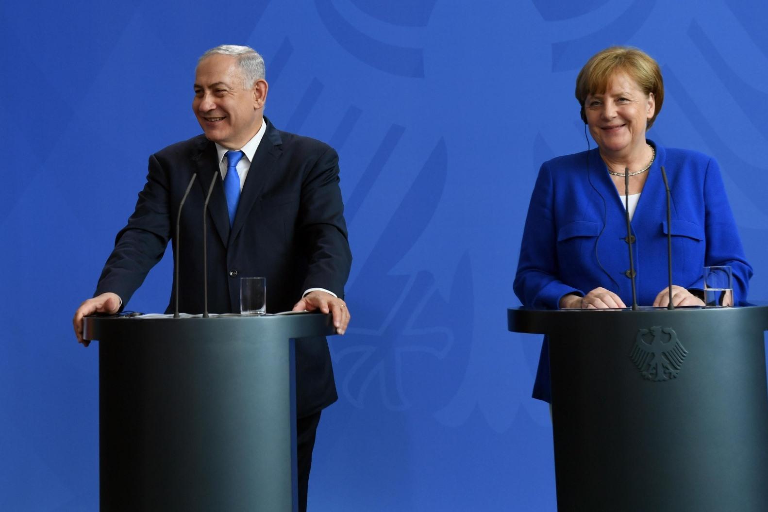 """נתניהו לקנצלרית גרמניה: """"איראן ממשיכה בשלה, לא נאפשר לה להפוך למדינה גרעינית"""""""