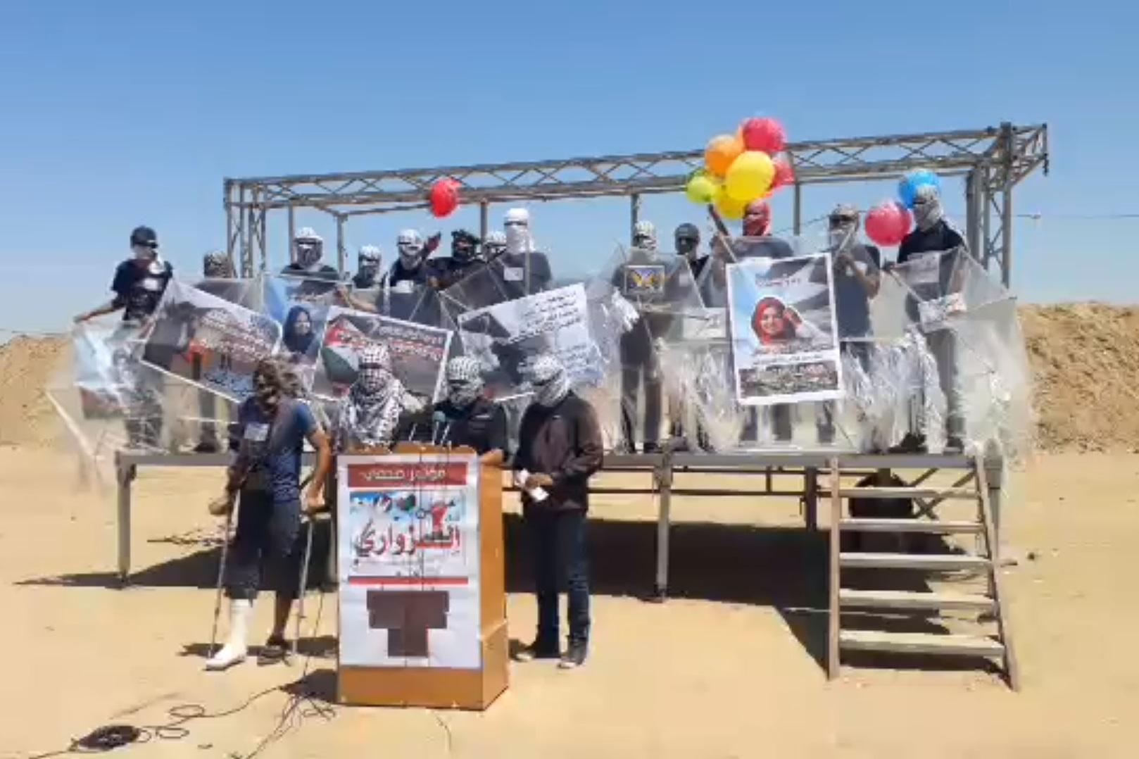 """מחבלי חמאס מבטיחים בלי חשש: """"5,000 עפיפוני תבערה יופרחו מחר לעבר ישראל"""""""
