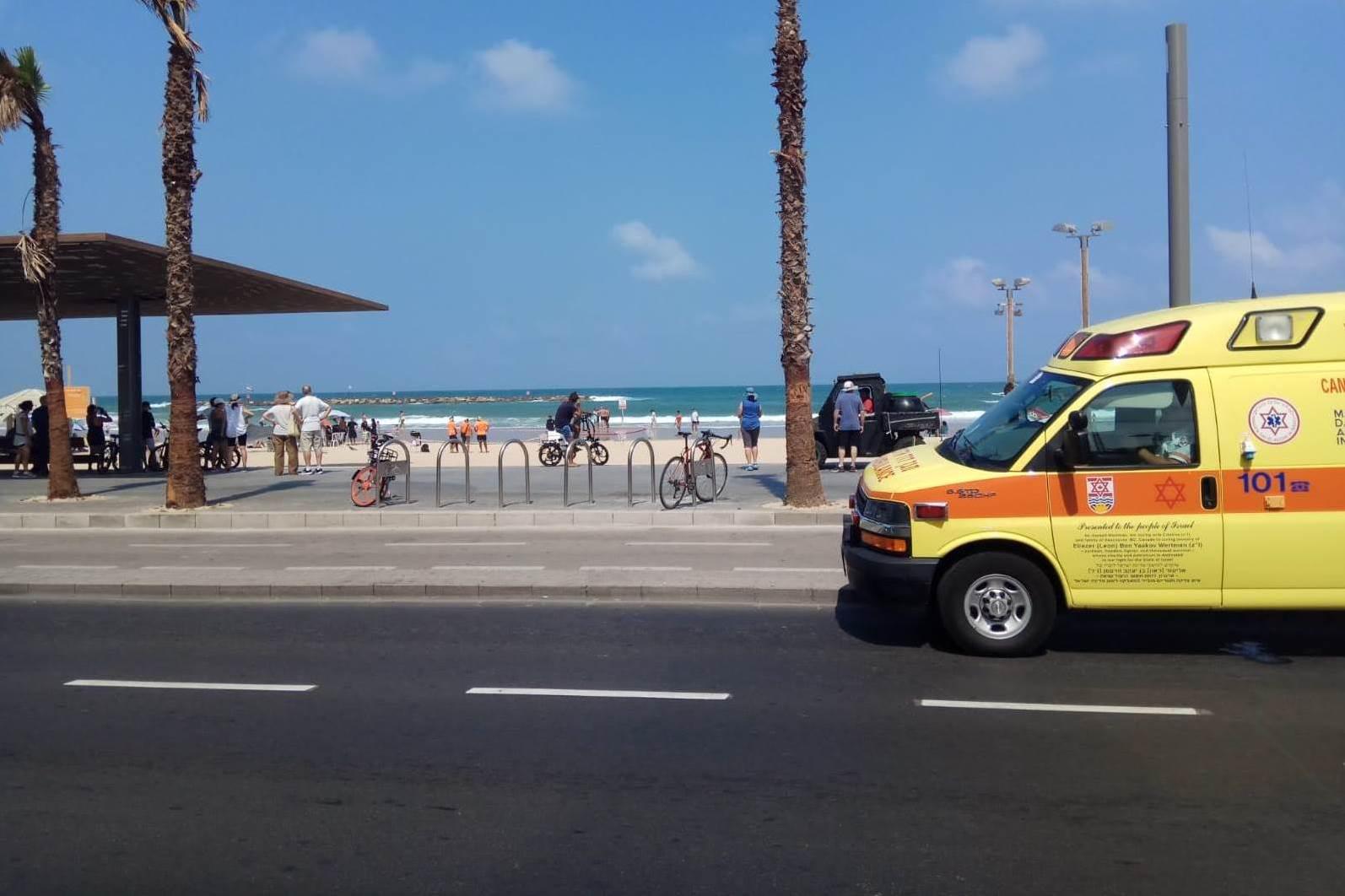 בן 20 טבע בחוף בית ינאי – מצבו קשה