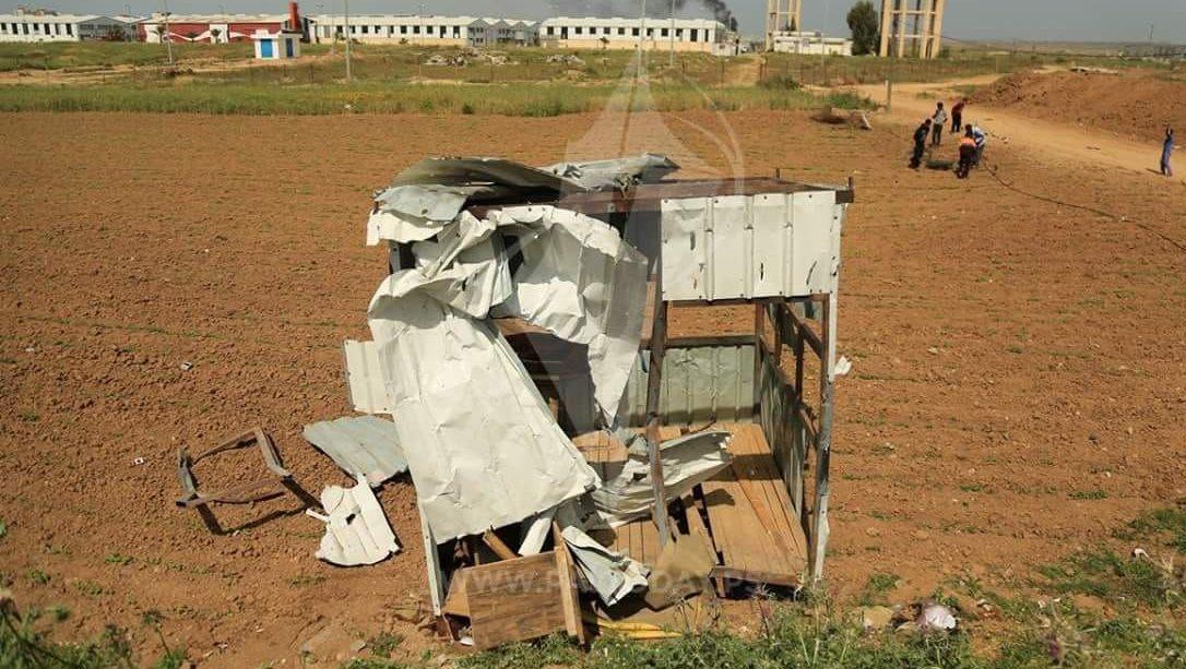 צפו בבדיחה: זו ״עמדת חמאס״ אותה תקפו כוחותינו