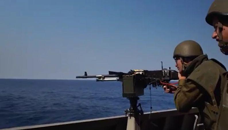 ערבי שחצה בשחייה מעזה לישראל נתפס על ידי כוחותינו מחיל הים