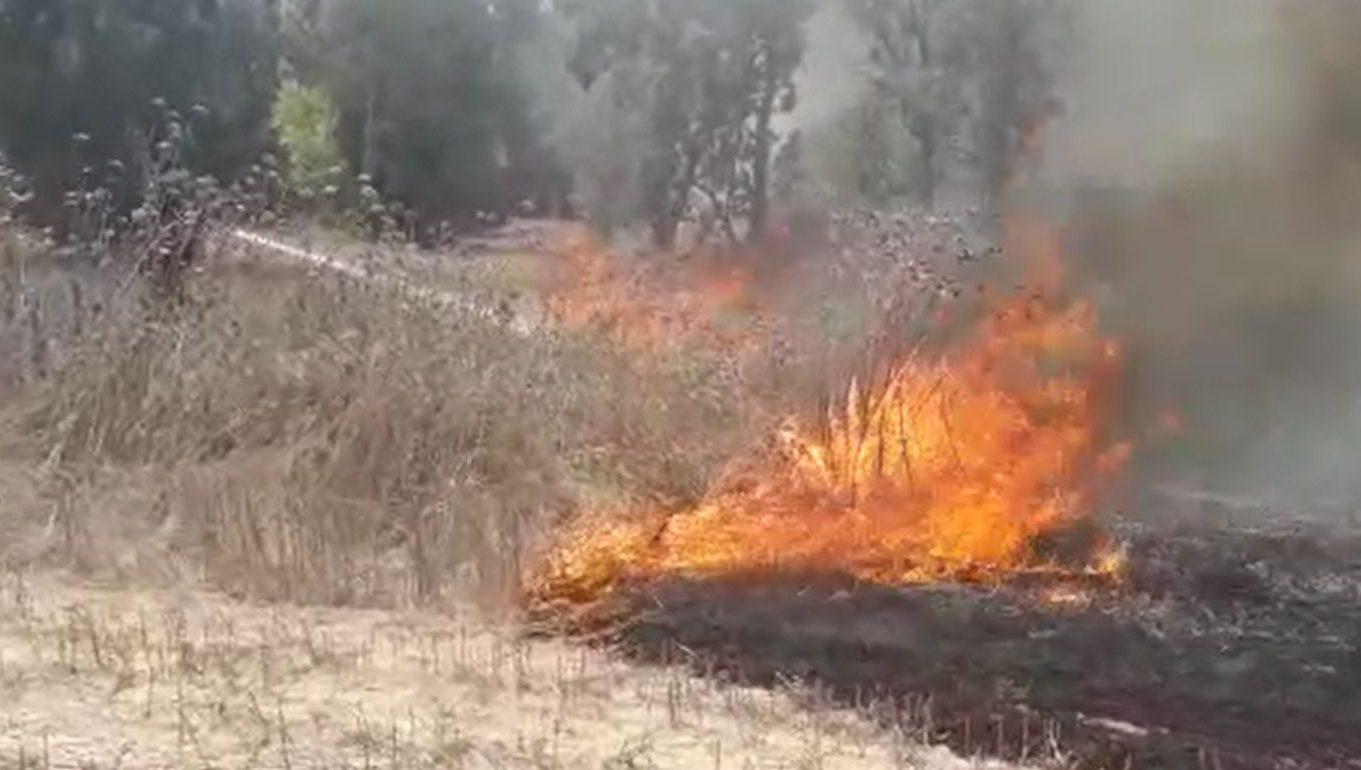 טרור בלוני התבערה נמשך: שתי שריפות נוספות באזור שדרות ושער הנגב (צפו)