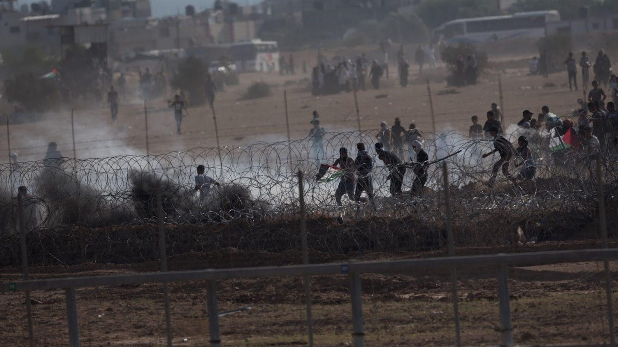 רימון הושלך לעבר כוחותינו בגבול הרצועה – אין נפגעים