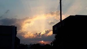 בוקר טוב ישראל עם הזריחה המקסימה מראשון לציון