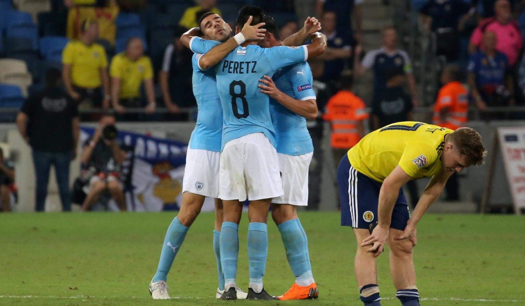 ליגת האומות: 1:2 לנבחרת ישראל בסמי עופר על נבחרת סקוטלנד