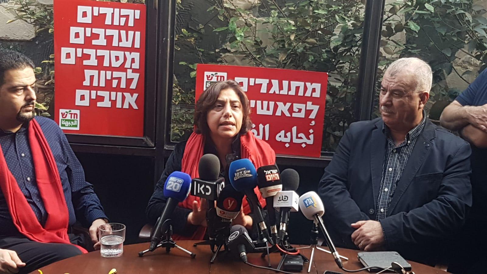 תומך החיזבאללה, זעאתרה, לא ישמש כסגן ראש העיר בחיפה. סגניתו, תומכת חמאס – כן