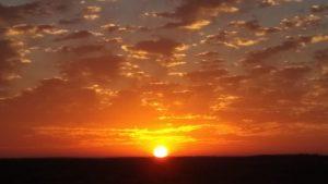 הזריחה המהממת שתועדה הבוקר במועצה האזורית אשכול