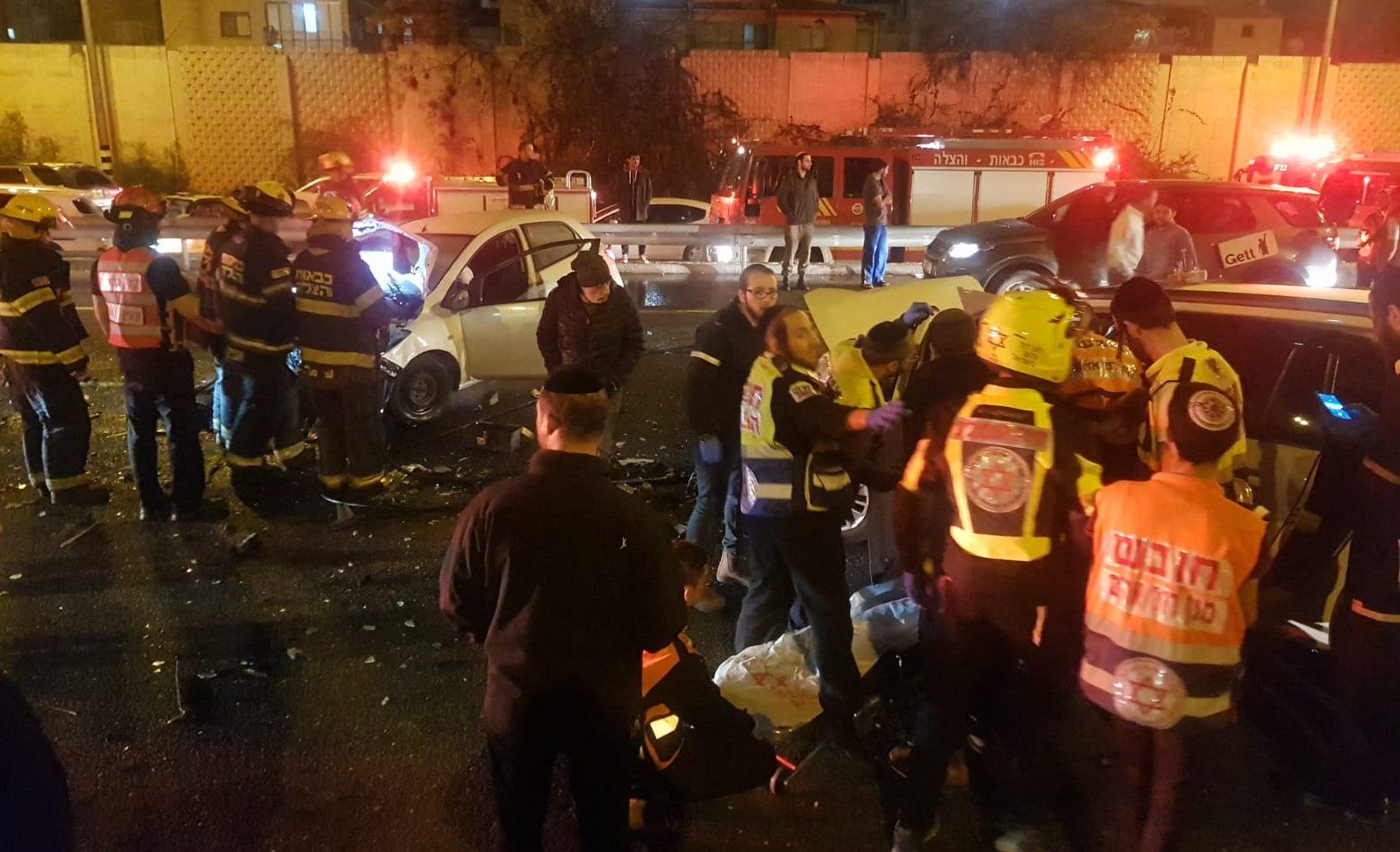 בת 40 נהרגה בתאונת דרכים בכביש 4 סמוך למחלף גהה