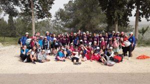אלפי חניכי ובוגרי תנועת עזרא יצעדו את כל שביל ישראל לכבוד שנת המאה של התנועה