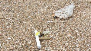 בלון אליו חובר חומר נפץ אותר ונוטרל בחוף הדרומי באשקלון