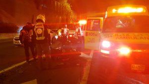 רוכב אופנוע נהרג לאחר שנפגע מרכב סמוך למחלף דב הוז
