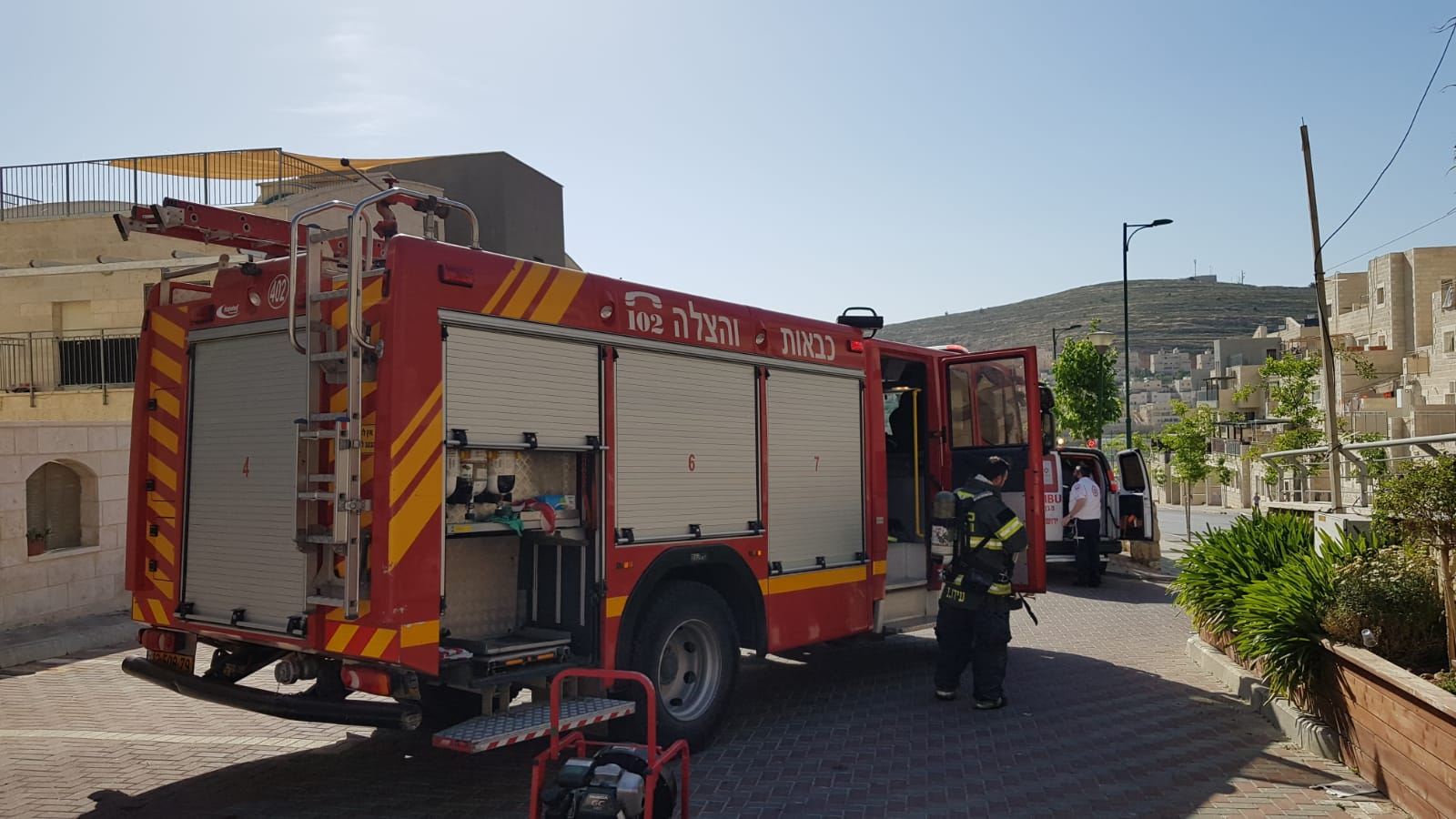 שריפה פרצה בגן ילדים בגבעת זאב – אין נפגעים