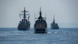 יחד עם ציים זרים מרחבי העולם – חיל הים ביצע תרגיל בינלאומי בישראל | תיעוד