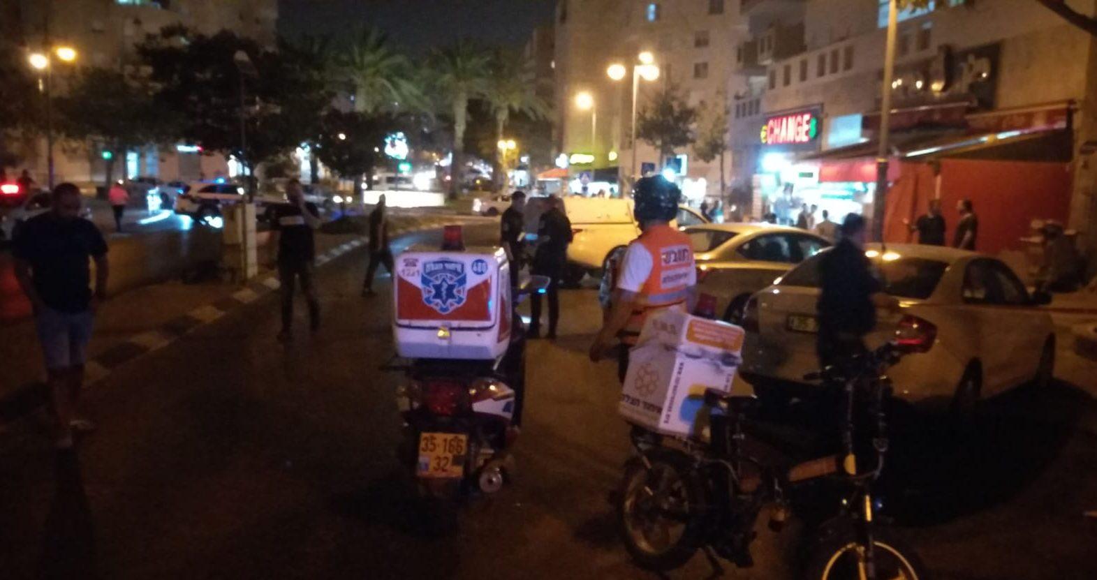 בן 60 נפצע מירי ברחוב ז'בוטינסקי בבאר שבע