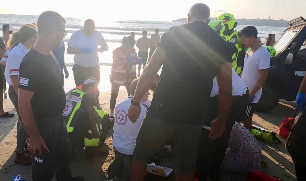 בת 60 טבעה למוות בחוף ארגמן בעכו