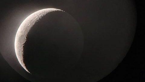 תיעוד מדהים שצולם הערב מארצנו: הירח ולידו כוכב צדק