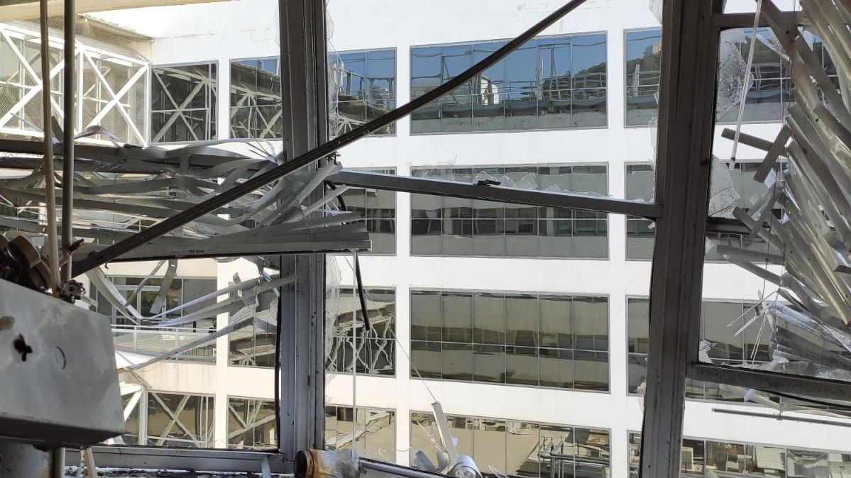 גבר כבן 60 נפצע באורח קשה בפיצוץ במעבדה בטכניון בחיפה   צפו בתמונות