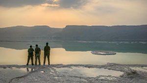 שומרים עלינו בגבול המזרחי: מילואימניקים לוחמי מסייעת 7491 בים המלח