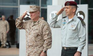 """מפקד פיקוד מרכז של צבא ארה""""ב ביקר בישראל ונפגש עם כוכבי – דנו בהתפתחויות במזרח התיכון"""
