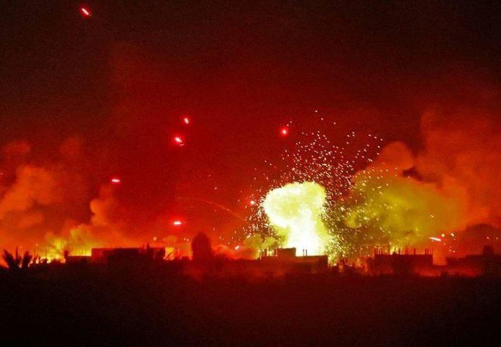 בתגובה לבלוני הנפץ | כוחותינו מחיל האוויר תקפו ברצועת עזה