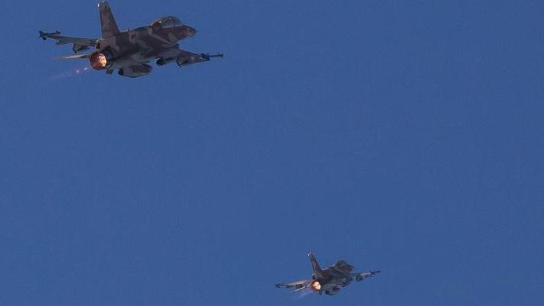 מטוסי קרב הפילו מל״ט שזוהה ממריא מהרצועה וטס מעל הים התיכון