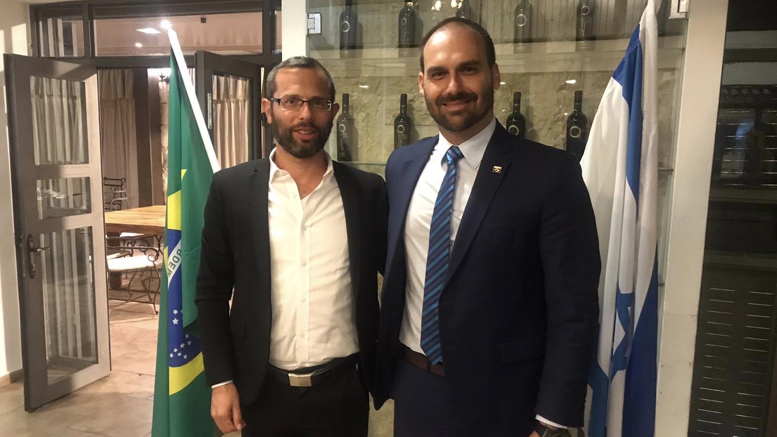 חברי הפרלמנט הברזילאי ביקרו בבנימין
