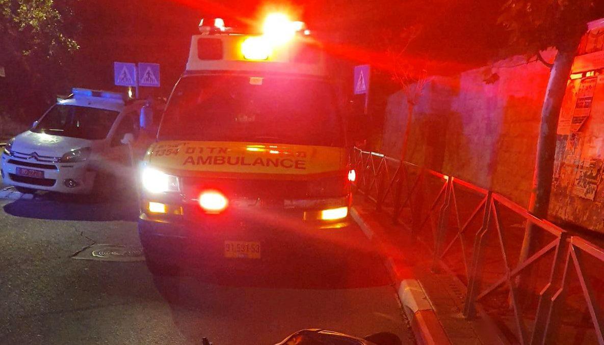 פצוע בינוני בתאונת דרכים במנהרת אלוף שדה ברמת גן