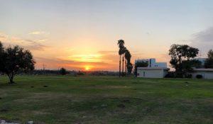 ערב טוב ישראל עם השקיעה בכפר חבד