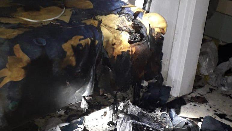 מפזר חום הצית מיטה וגרם לשריפת דירה בבית שמש – אין נפגעים
