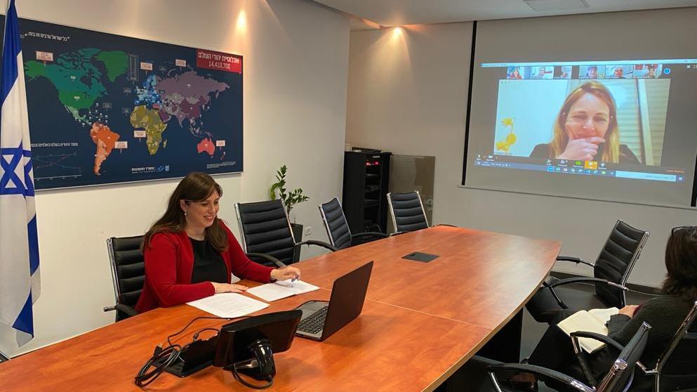 בהובלת חוטובלי: משרד התפוצות פתח מרכז חירום לתמיכה בבתי הספר היהודיים בעולם