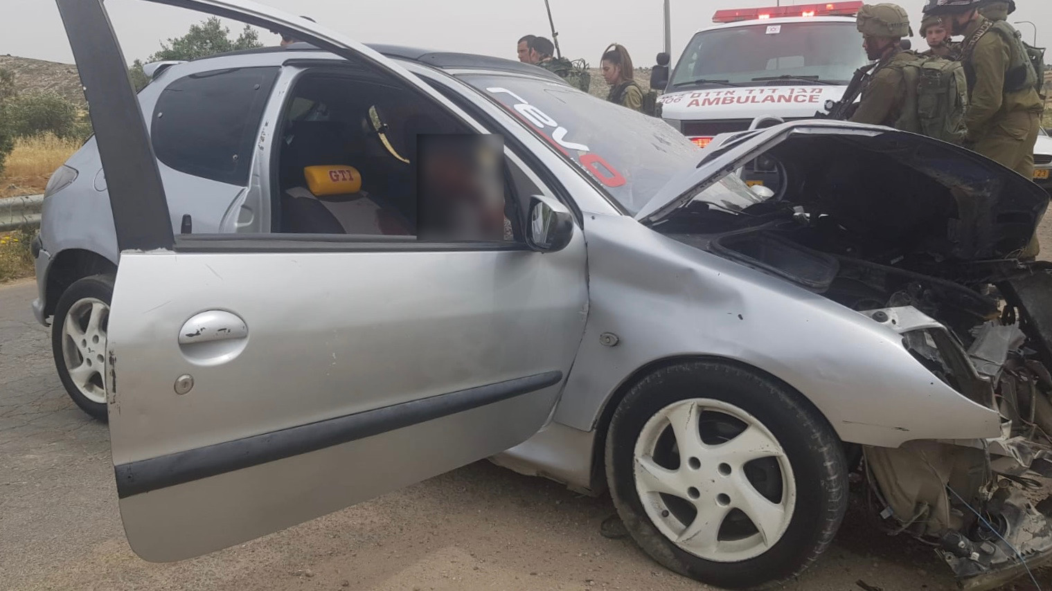 חייל נפצע בינוני-קשה בפיגוע דריסה סמוך לנהוגות – המחבל חוסל