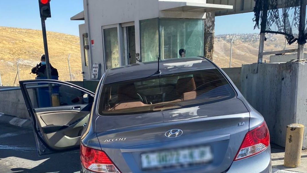 ניסיון פיגוע דריסה במחסום הקיוסק – המחבל חוסל
