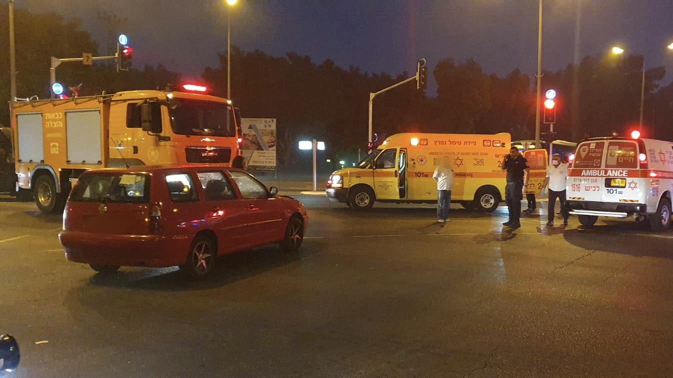 חמישה פצועים בתאונת דרכים סמוך לצומת אמונים
