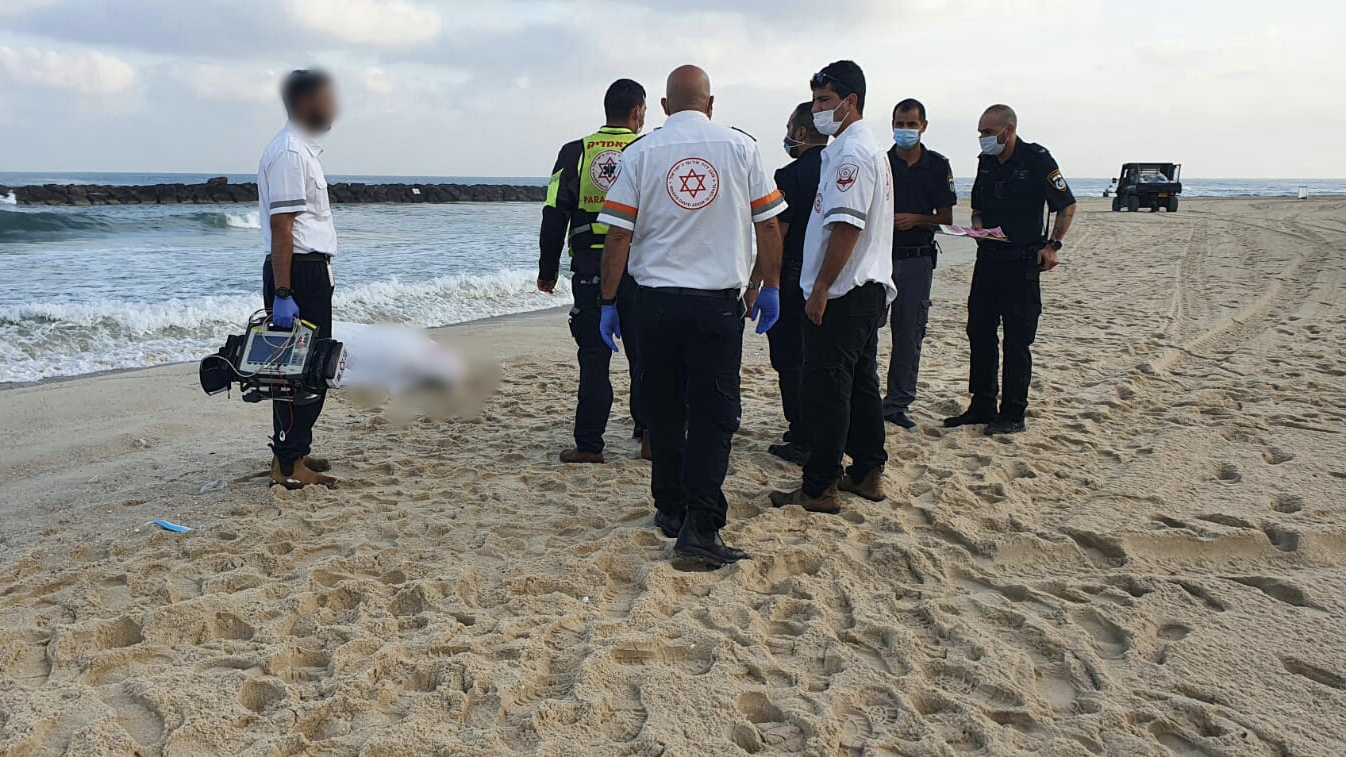 נקבע מותו של גבר כבן 70 שטבע בחוף באשקלון