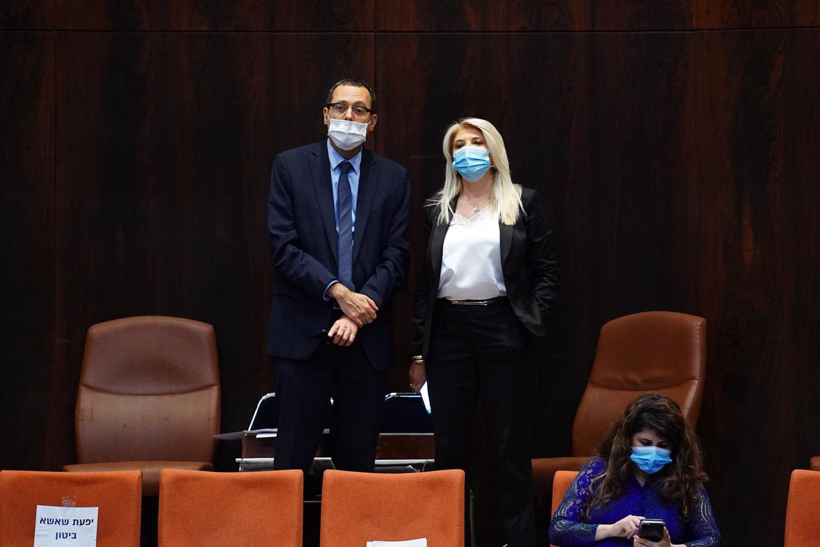 אסנת מארק וצבי האוזר נבחרו לוועדה למינוי שופטים