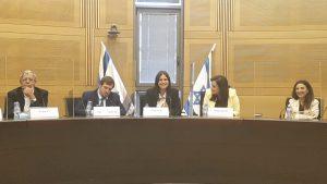 חברות הכנסת קרן ברק וקטי שטרית השיקו את השדולה למען התיירות