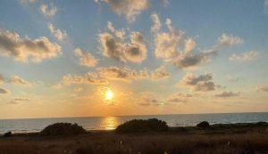 ארצנו המושלמת   ערב טוב ישראל עם השקיעה המדהימה סמוך לחיפה