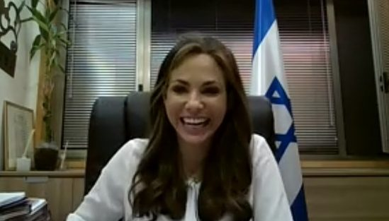 ינקלביץ' לחברת הפרלמנט היהודיה בבחריין: