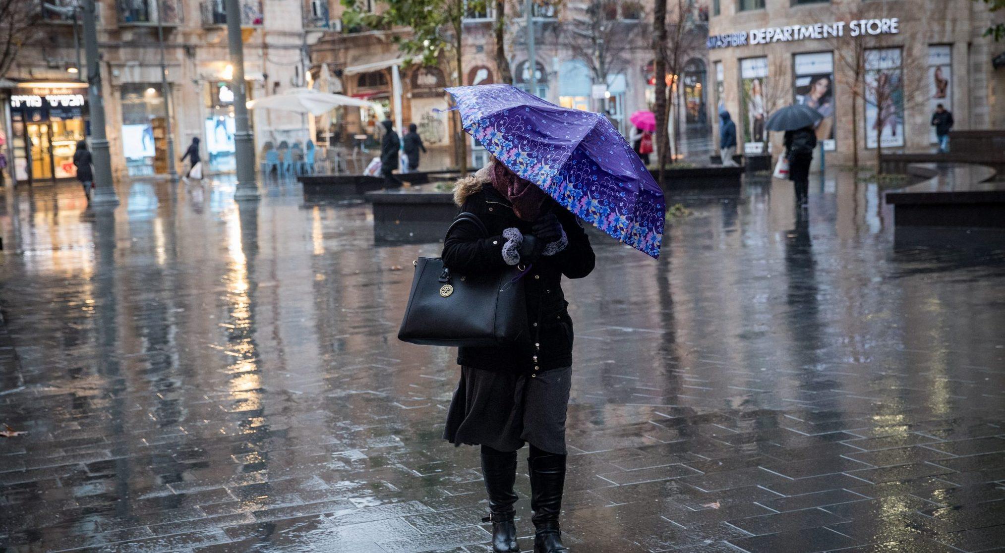 מזג האוויר החורפי | איפה ירדו הכי הרבה גשמים?