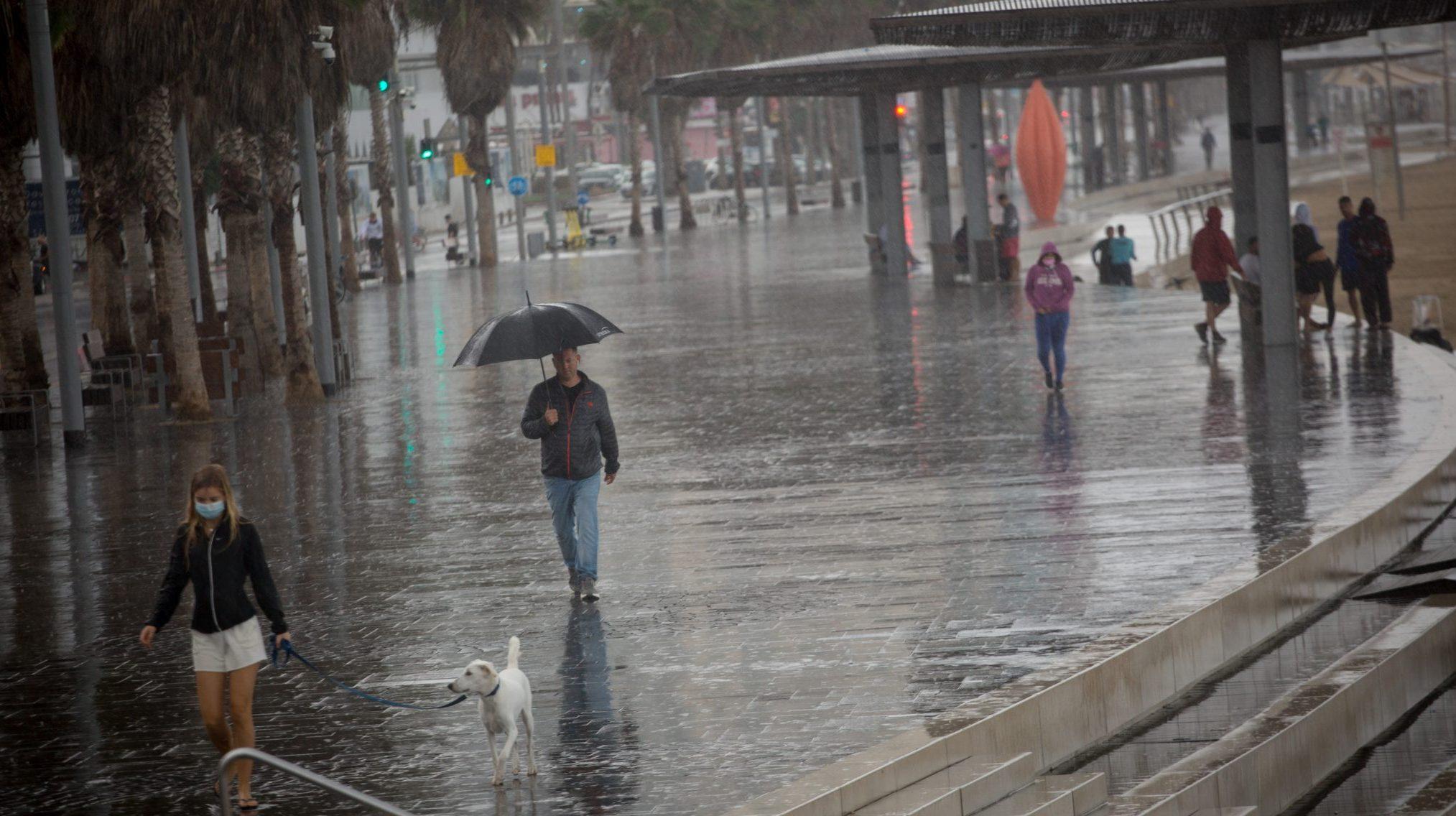 גשמים ורוחות | תחזית מזג האוויר המעודכנת