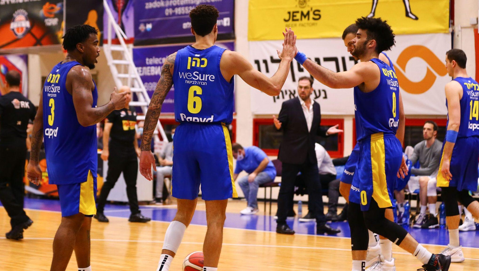כדורסל: 86:92 למכבי ת