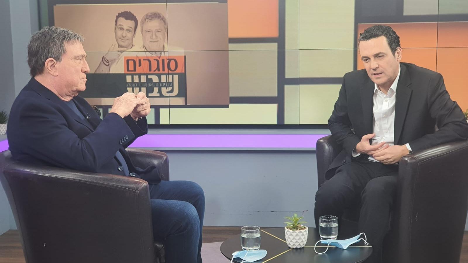 יהורם גאון הצטרף לערוץ 20 והערב כבר יגיש תכנית ראשונה