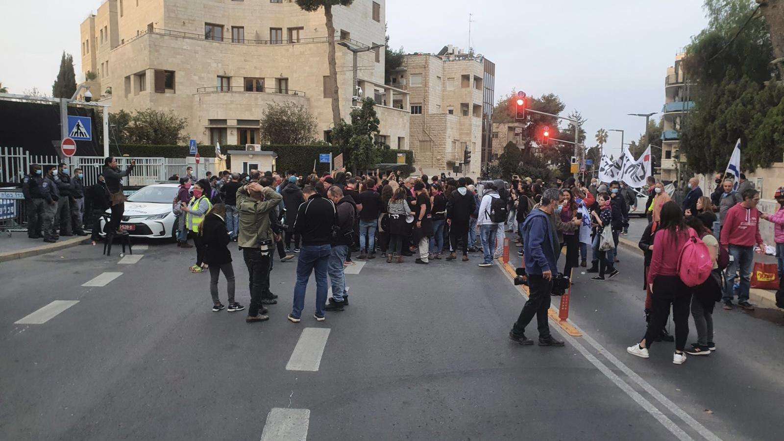 7 מפגיני שמאל נעצרו במהלך מחאות האנרכיסטים בירושלים