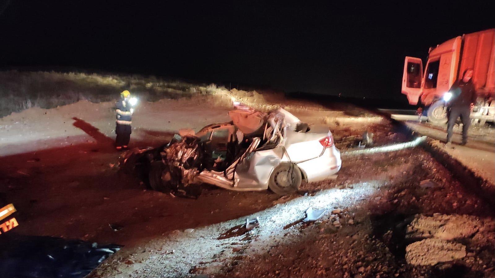 אדם נהרג בתאונת דרכים קטלנית סמוך לבית קמה
